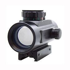 1X30mm Red Dot & Green Dot Scope For Crossbows Weaver Rail &  Dovetail Rail