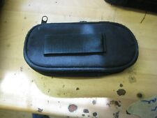 Protective Soft Bag Pouch Carry Case + Strap for Sony PSP 1000 2000 3000 Black