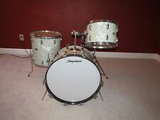 Vintage 1970s Slingerland Gene Krupa Delux Outfit NO.1 Drum Set Original WMP
