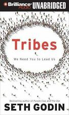 Tribes : We Need You to Lead Us by Seth Godin (2014, MP3 CD, Unabridged)