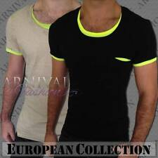 Short Sleeve Slim Fit Solid Casual Shirts for Men