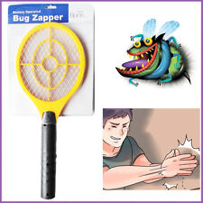 ZAPPER Bug Swatter Mosquitos Racket Catch Fly Insect Electric Wasp Killer Tennis