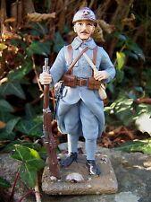 RE0212   FIGURINE STATUETTE POILU 1918 FANTASSIN PREMIERE GUERRE MONDIALE SOLDAT