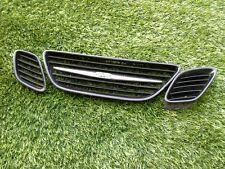 Saab grill ebay 2003 2007 saab 93 9 3 front grill set of 3 painted a3 sciox Images
