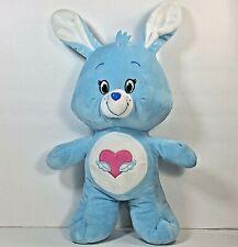Care Bear Cousin Swift Heart Bunny Rabbit Plush Kellytoy American Greetings 2007