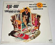 Live And Let Die-ORIG. 1973 US OST LP-SEALED-James Bond-Paul McCartney & Wings!