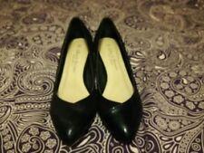 Faux Suede Wide (E) Court Slim Heels for Women