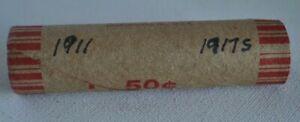 Roll of Wheat Pennies - 1909 - 1958 50 Penny Cent Coins