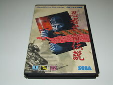 Ninja Burai Densetsu pour MEGADRIVE (Jap) complet!