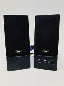 Cyber Acoustics Multimedia Desktop Computer Speakers USB Powered Headphone TT20