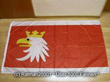 Fahnen Flagge Ermland Masuren Woiwodschaft Polen Digitaldruck - 90 x 150 cm