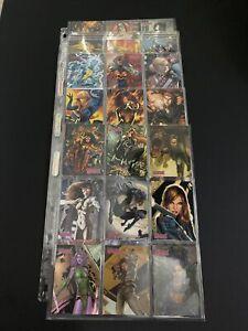 2008 Marvel Women Of Marvel 81 Card Set