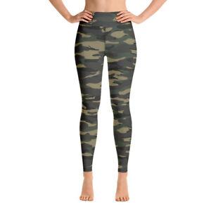 Camo yoga pants camoflauge leggings yoga leggins green yoga pants camo legging