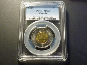 GEM: 2012 (old style) business strike $2 PCGS MS-66