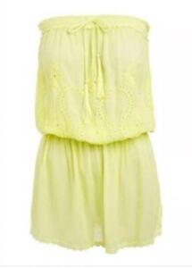 BNWT Melissa Odabash Fruley Yellow Dress Small