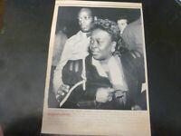 Vintage Wire Press Photo Georgette Watson Founder Drop-A-Dime Escort 12/20/1989