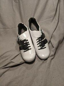 Giro Factress Techlace Women's Cycling Shoe WHITE/BLACK 40 (Size 8)