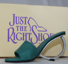 Just the Right Shoe by Raine Geometrika 25029 Mod Circle Heel In Box Paperwork