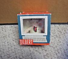 DILBERT comic strip toy w/ box Scott Adams plush doll White Collar Office humor