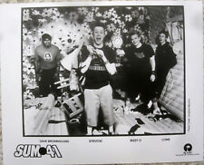 Sum 41 - Canada - 8x10 Black & White Promo Press Photo [2004] Near Mint