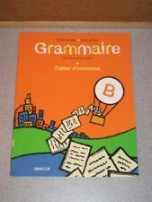Lot 3 French books GRAMMAIRE du Troisieme Cycle NEW HTF