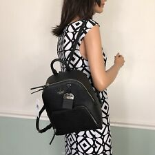 Kate Spade Caden Leather Backpack Purse Black New