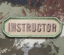 INSTRUCTOR USA ARMY BADGE MILITARY MILSPEC MULTICAM VELCRO® BRAND FASTENER PATCH