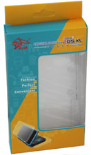 Transparent Clear Hard Shell Plastic Cover Protective for NEW Nintendo 2DS XL