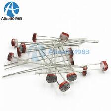 30PCS Photoresistor LDR CDS 5mm Resistor Light-Dependent Sensor GL5516 Arduino