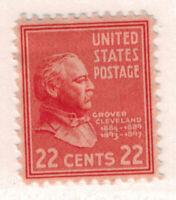 United States Scott #827, Grover Cleveland Portrait