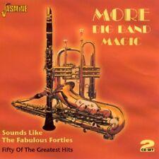 MORE BIG BAND MAGIC - BOB CROSBY, FREDDY MARTIN, GLENN MILLER - 2-CD 2 CD NEUF