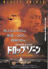 DROP ZONE:Wesley Snipes-Japanese  Mini Poster Chirash