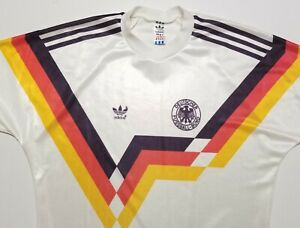Vintage 1990s Germany Adidas Replica Made in West Germany Medium Jersey