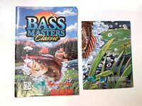 Bass Masters Classic Instruction Manual & Poster Insert Only Super Nintendo SNES