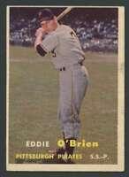 1957 Topps #259 Eddie O'Brien EX/EX+ Pirates 20093