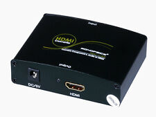 YPbPr RBG Video + S/PDIF Coax + Optical Toslink Audio to HDMI Converter Adapter