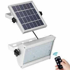 65 LED Solar Power Light Outdoor Garden 12W Wireless Bright With Remote Control
