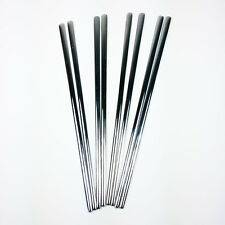8Pcs 4set Korean Chopstick Stainless Steel Chopsticks High Quality No Patten