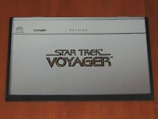 STAR TREK VOYAGER DATA LOG VIDEO STORE PROMO FLYER 1995 PARAMOUNT