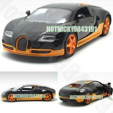 Bugatti Veyron Limited Edition 1:24 Diecast Alloy Model Car Orange&Black