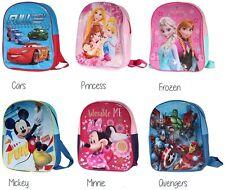 Disney Kinder Rucksäcke Kindergarten Rucksack Mickey Mouse Frozen Cars Avengers