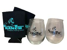 Healing with Horses Ranch Party Pack, Gift Set of Two Glasses and Two Koozies