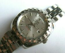 MINT TUDOR CLASSIC GENEVE DAY DATE PRESIDENT AUTOMATIC 23010 41MM W BOX BOOKLET