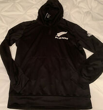 New Zealand All Blacks Rugby Adidas Hoodie Mens Large L FK9750 New NWT