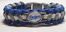 LA Dodgers #2 Handmade Paracord Bracelet OR Lanyard OR Deluxe Key Chain