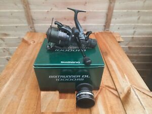 SHIMANO DL 10000 RB BAIT RUNNER CARP PIKE FISHING TACKLE SPOOL ACCESSORIES  VGC