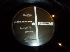 "JACOBS & MENDEZ - Depths of Time - 2001 UK 2-track 12"" Vinyl Single"