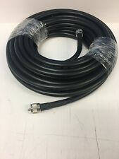 LMR-400 50' Super Low Loss Coax Cable Browning US Made PL-259 To PL-259 Hi Power