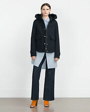 Zara Polyester Hip Length Outdoor Coats & Jackets for Women