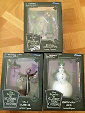 Nightmare Before Christmas Snowman Jack Tall Vampire Devil Gal Diamond Select